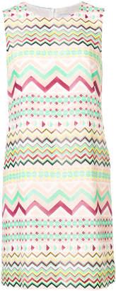 M Missoni patterned shift dress