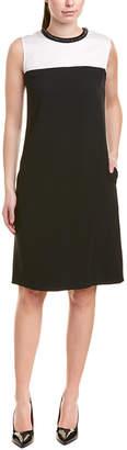 Escada Silk-Trim Shift Dress