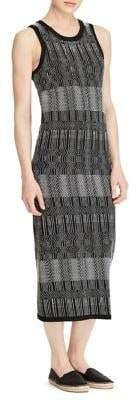 Lauren Ralph Lauren Printed Sleeveless Maxi Dress