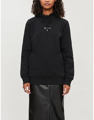 Alyx Logo-print regenerated cotton-blend hoody