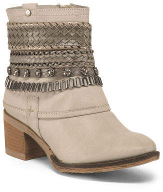 Bootie With Ankle Bracelet Detail