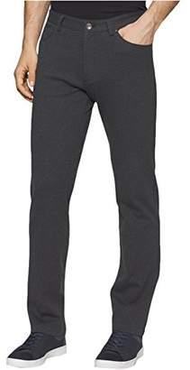 Calvin Klein Men's Slim Fit 5-Pocket Heather Knit Pant