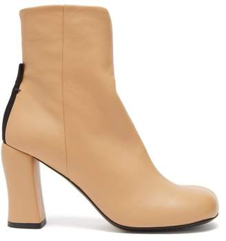 Joseph Groucho Leather Ankle Boots - Womens - Nude