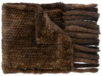 Max Mara chunky knit scarf