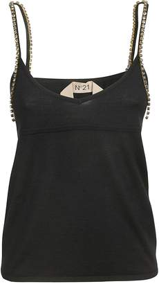 N°21 N.21 Embellished Tank Top