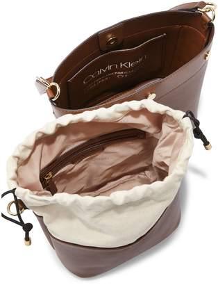 Calvin Klein Amber 2-in-1 Bucket Bag