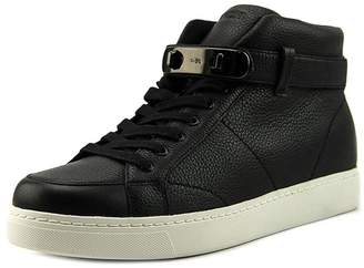 Coach Womens Robby Leather Hight Top Buckle Fashion Sneakers