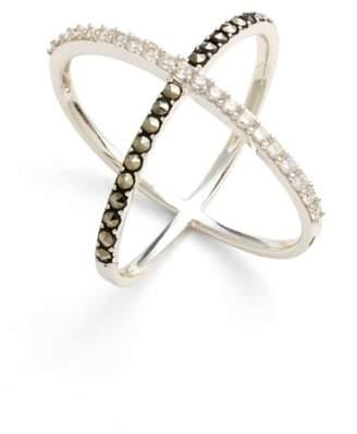 Judith Jack 'Rings & Things' Crossover Ring