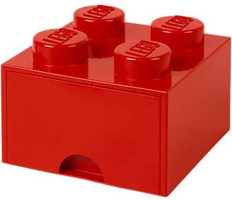 Lego 4 Stud Storage Drawer, Red