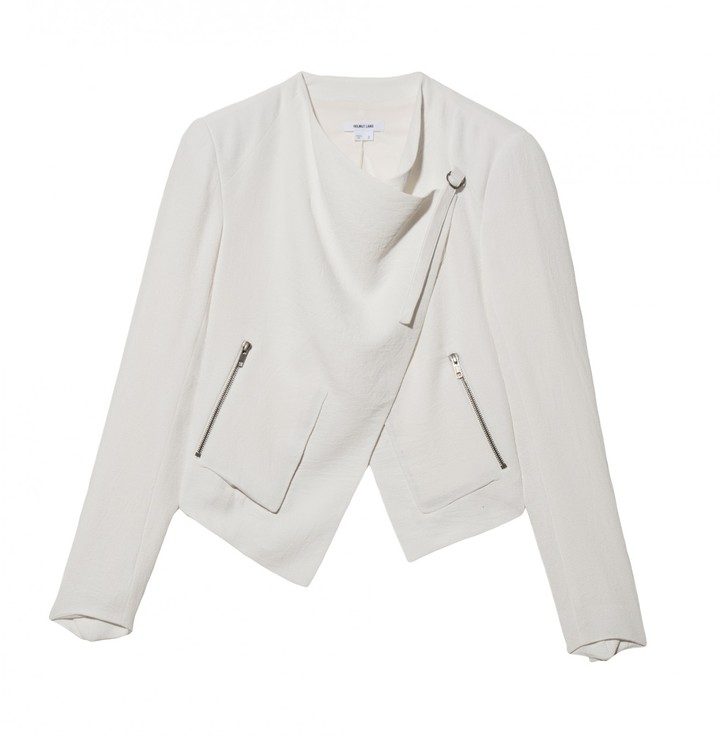 Helmut Lang Crop Sugar Jacket