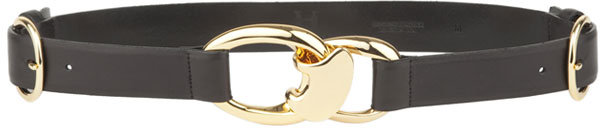 Halston Heritage Link Belt with D-Ring Women