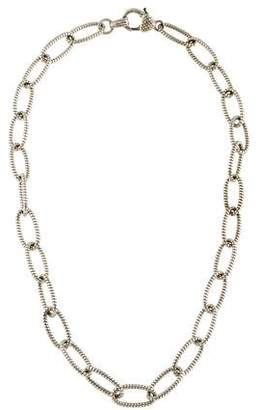 Judith Ripka Oval Chain Necklace