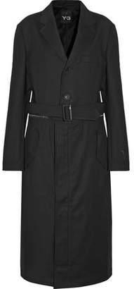 Y-3 + Adidas Originals Cotton-Blend Trench Coat
