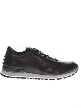 Tod's Techno Fabric & Leather Sneakers