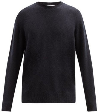 Raey Sloppy Crew Neck Cashmere Sweater - Mens - Navy