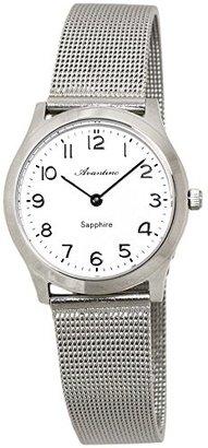 Crepha (クレファー) - [クレファー]CREPHA 腕時計 AVANTINO アナログ表示 5気圧防水 ホワイト AVT-1389-WTS レディース