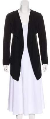 Tory Burch Jersey Open Front Cardigan