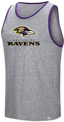 Majestic Men's Baltimore Ravens Go the Route Tank Top