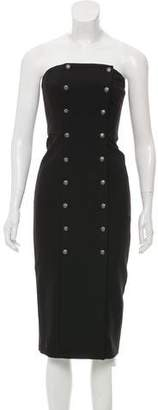 Intermix Strapless Midi Dress w/ Tags
