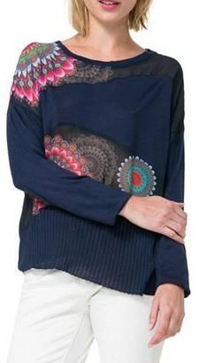DESIGUAL Peniscola Sweater $115.95 thestylecure.com
