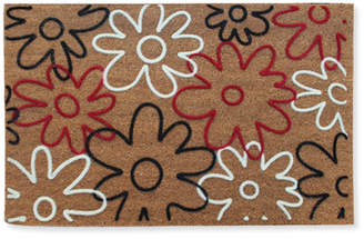 A1 Home Collections LLC First Impression Qiana Flowers Entry Doormat