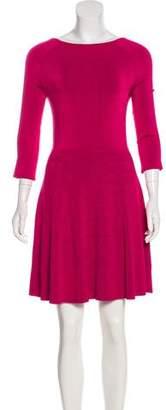 Trina Turk A-Line Knit Dress