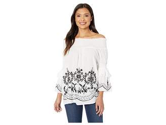 Scully Ireland Flirty Off the Shoulder Blouse