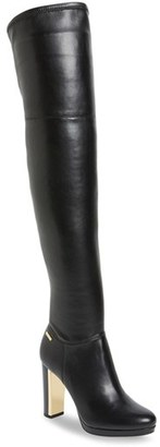 Calvin Klein 'Polomia' Platform Over the Knee Boot $198.95 thestylecure.com