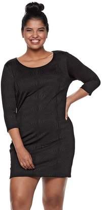 3e07fea8f31 Juniors  Plus Size Lily Rose Bodycon Dress