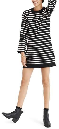 Madewell Stripe Sweater Dress