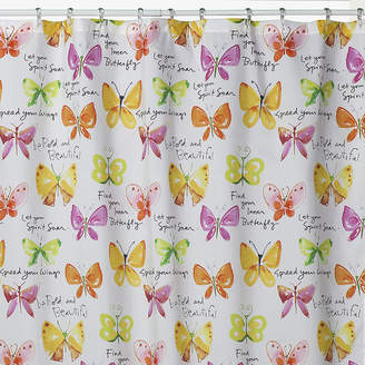Creative Bath Creative BathTM Flutterby Shower Curtain