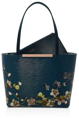Ted Baker Shantal Arboretum Small Leather Tote
