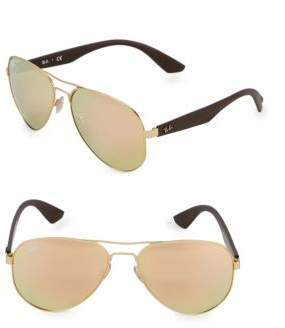 Ray-Ban 59MM Aviator Sunglasses