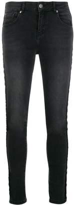 Kappa Omini tape skinny jeans