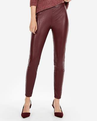 Express High Waisted Dressy (Minus The) Leather Leggings