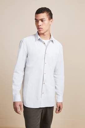 French Connenction Core Peach Cotton Shirt