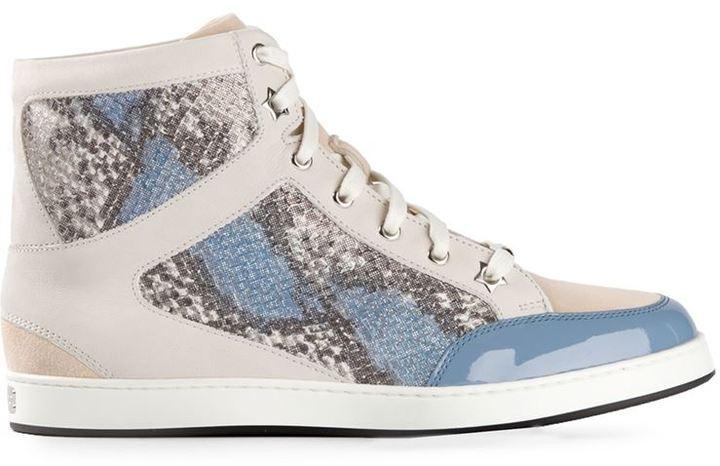 Jimmy Choo 'Tokyo' hi-top sneakers