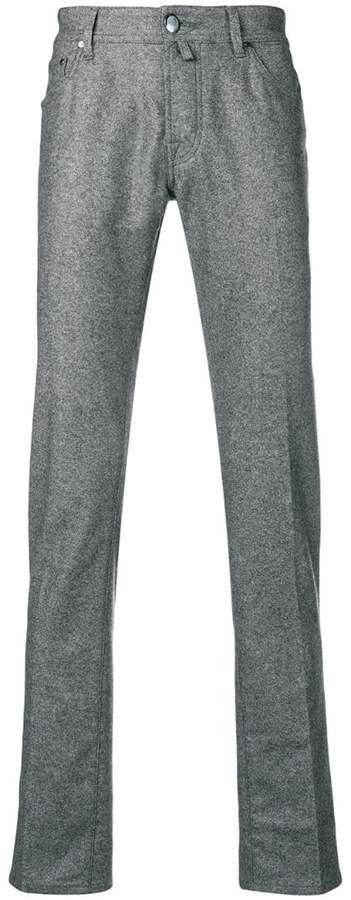 Jacob Cohen handkerchief straight-leg trousers