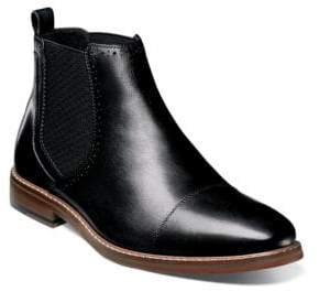 Stacy Adams Amory Cap-Toe Leather Chelsea Boots