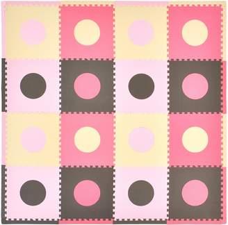 Tadpoles Playmat Set 16-Piece Circles