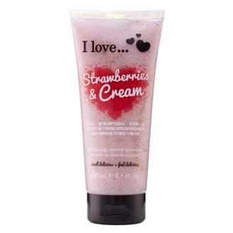 Ilove I Love Strawberries & Cream Exfoliating Shower Smoothie 200 mL
