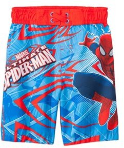Marvel Boys' Spiderman Swim Trunks (2T4T) - 8147447