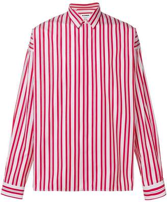 Jil Sander oversized striped shirt