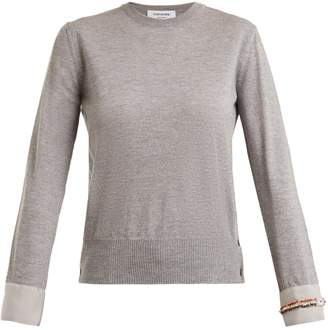 Thom Browne Round-neck wool sweater