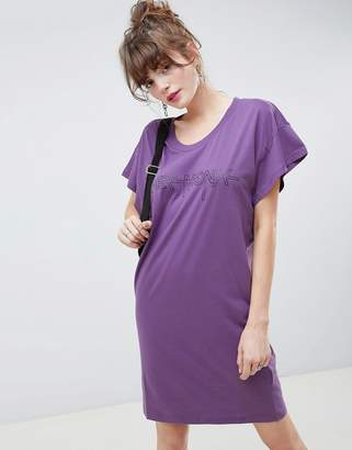 Cheap Monday Hacker Outline Media T-Shirt Dress