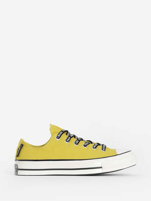 Converse YELLOW CHUCK 70 OX BOLD GORE-TEX CANVAS LOW TOP SNEAKERS