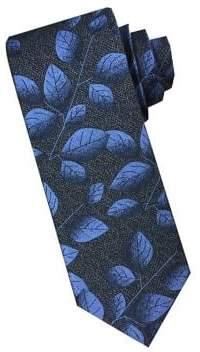 Perry Ellis Leaf Silk Tie