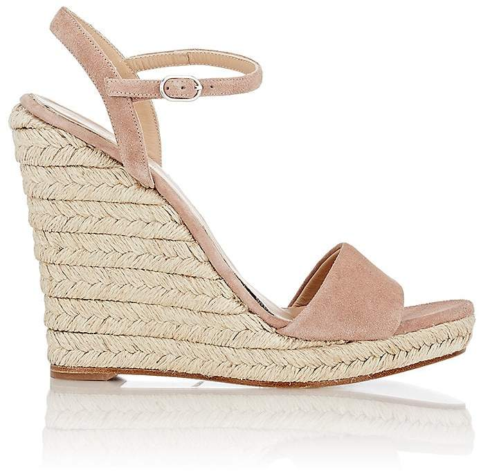 Barneys New York Women's Fania Platform Wedge Sandals