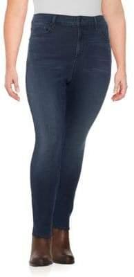 NYDJ Plus Sheri Slim-Fit Jeans