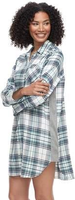 Sonoma Goods For Life Women's SONOMA Goods for Life Flannel Sleepshirt